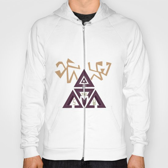 Shelter The Weak Triangles Hoody