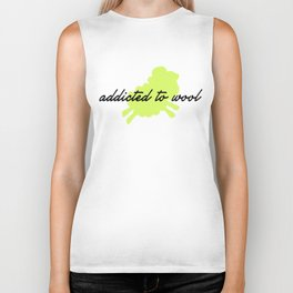 Addicted to Wool - Lime Biker Tank