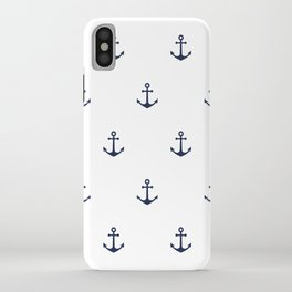 Anchor Pattern iPhone Case