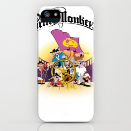 Pirate Monkeys iPhone Case