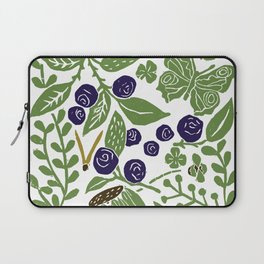 Blueberry Bush Laptop Sleeve