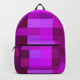Purple Mosaic Backpack