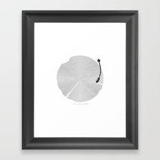 an old song Framed Art Print