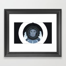 Siren / Tron: Legacy Framed Art Print