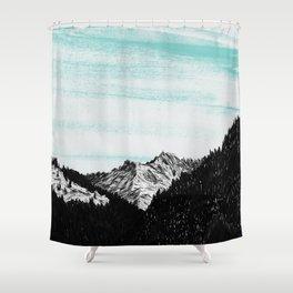 Void. Shower Curtain
