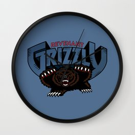 Revenant Grizzly Wall Clock