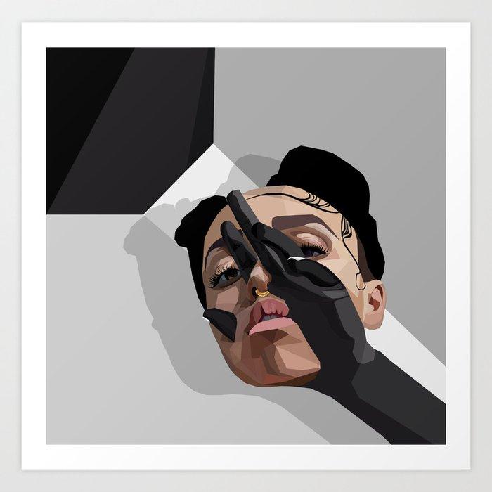 FKA Twigs: M3LL155X Art Print