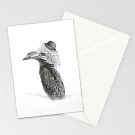 Fancy Hornbill Stationery Cards