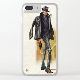 Smoking Gun Clear iPhone Case