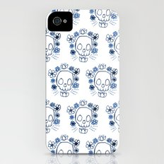 Skull and Flowers iPhone (4, 4s) Slim Case