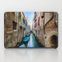 venice iPad Cases featuring Venice by GF Fine Art Photography
