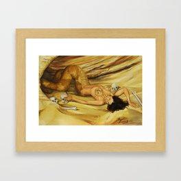 Snake's Den Framed Art Print