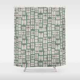 Gift box pile  Shower Curtain