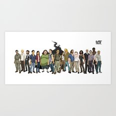 LOST: The Animated Series Art Print
