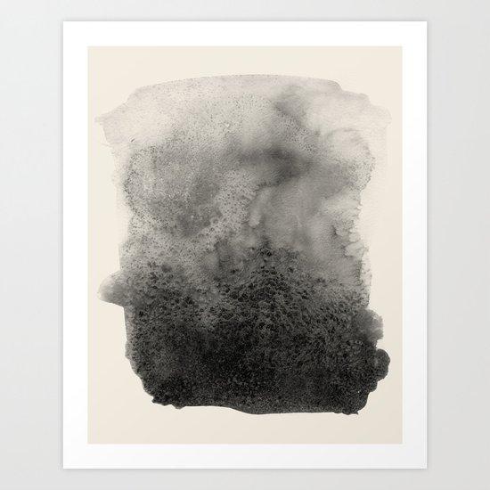 Four / Cream Art Print