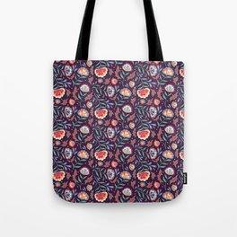 Floral Roma (Multi) Tote Bag