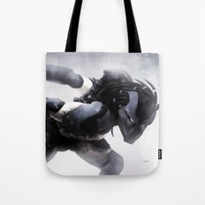 Black Blood Tote Bag