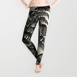 Palm Fan Leggings