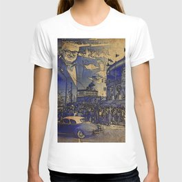 Harry Caray and Wrigley Field of yesterday T-shirt