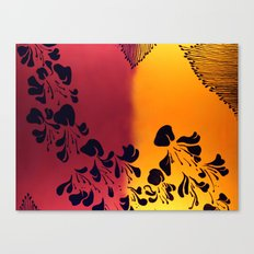 The Flower of our Discontent Canvas Print