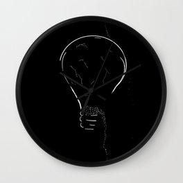 Lightbulb 2 Wall Clock