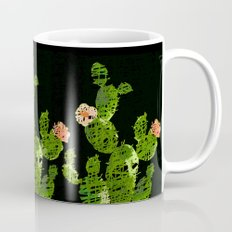 weird cactus black version Coffee Mug