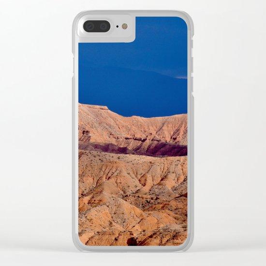 Desert Storm's Abrew'n II Clear iPhone Case