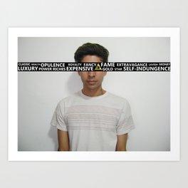 Blinded. Art Print