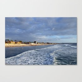 San Diego Pacific Beach just before sunset Canvas Print