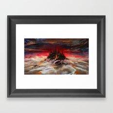A world  reborn with Magic: Days of Dawn  Framed Art Print