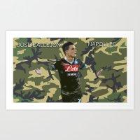 JOSE CALLJÒN NAPOLI FC Art Print
