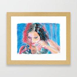 Chouchou 9 Framed Art Print