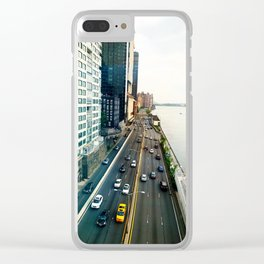 East Side Highway Clear iPhone Case