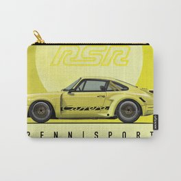 1974 ACID YELLOW 911 RSR OUTLAW FRANK CASSIDY Carry-All Pouch