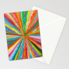 Exploding Rainbow Stationery Cards
