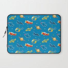 Cute plane pattern Laptop Sleeve