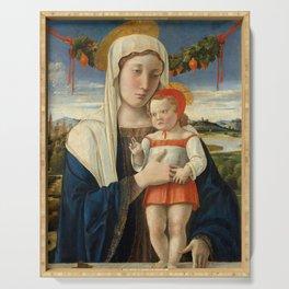 "Giovanni Bellini ""Madonna and Child"" (6) (1470) Serving Tray"