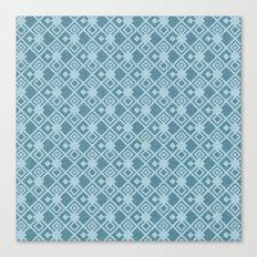 squared pattern Canvas Print