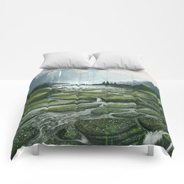 The Great Waterfall Comforters