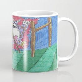 "James Joyce & The ""Hey Diddle Diddle"" Cow Coffee Mug"