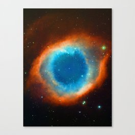 Eye Of God - Helix Nebula Canvas Print