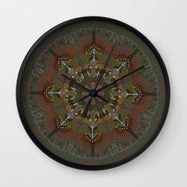 Hobbit Mandala Wall Clock