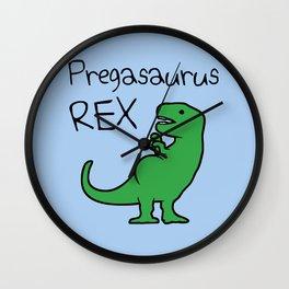 Pregasaurus Rex Wall Clock