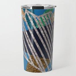 Heartstrings (blue) Travel Mug