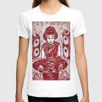 internet T-shirts featuring Internet Girl by Yukska