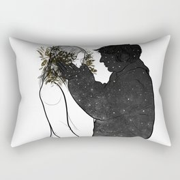 The peace in your hand. Rectangular Pillow