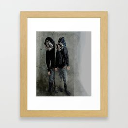 String Theory: Collapsing Wavefunction, Fifth Tangible Framed Art Print