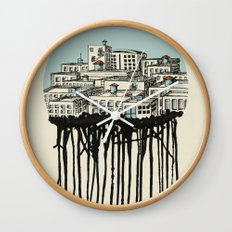 Primary City Wall Clock