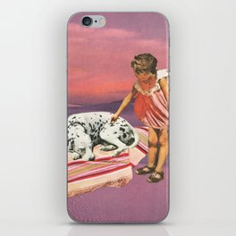 Napping Puppy iPhone Skin
