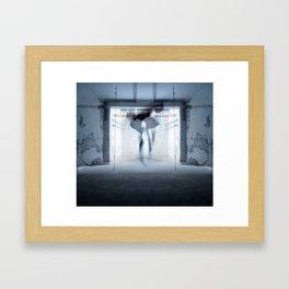 self dance Framed Art Print